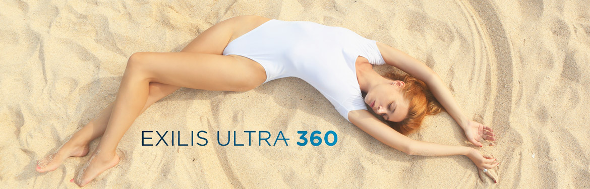exilis ultra 360 radio frequency and ultrasound fat reduction and skin tightening